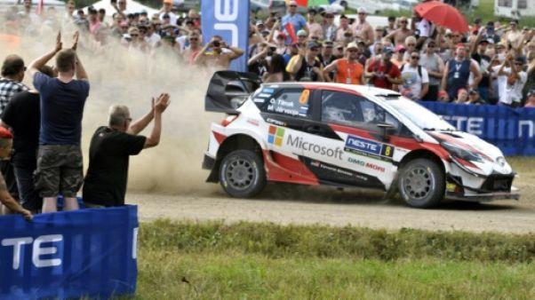 Rallye de Finlande: Ott Tänak (Toyota) s'impose et revient dans la course au titre