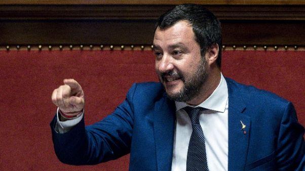 Salvini, pochi nati scusa per migranti