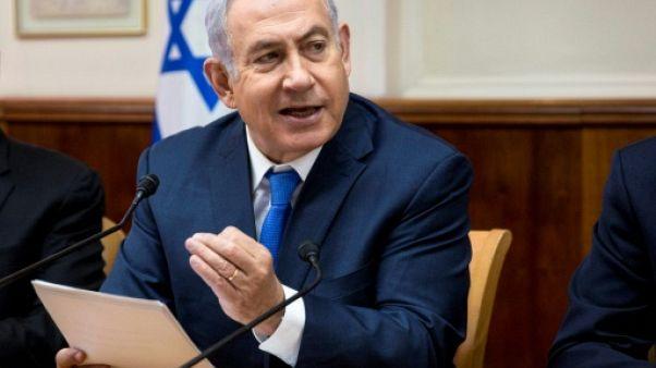 """Netanyahu défend la loi sur Israël """"État-nation du peuple juif"""""""