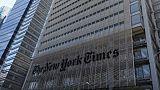 Le siège du New York Times à Manhattan, le 28 avril 2016