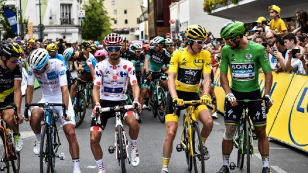 Tour de France: les coureurs sont partis pour la dernière étape