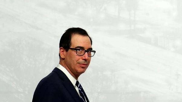 U.S. Treasury's Mnuchin says he sees at least 3 pct growth for next 4-5 years
