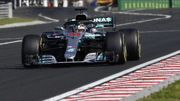 F1: Ungheri, vince Hamilton e Vettel 2/o