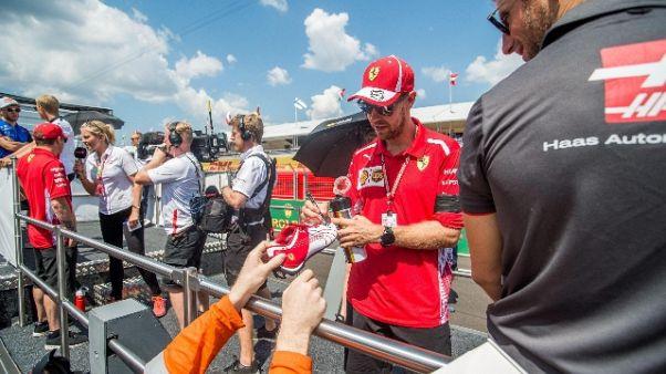 F1: Vettel, 2/o posto massimo risultato