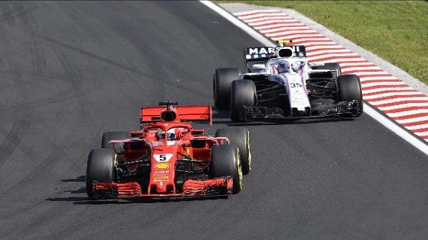 F1: Arrivebene, il massimo è se vinci