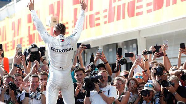 هاميلتون يفوز في المجر ويعزز صدارته لفورمولا 1