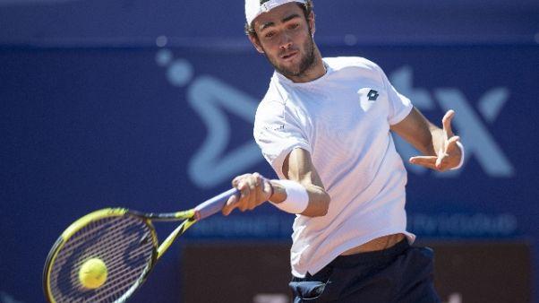 Tennis: Malagò, che favola Berrettini