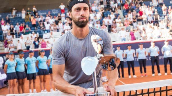 Tennis: Basilashvili premier Géorgien sacré sur le circuit, à Hambourg