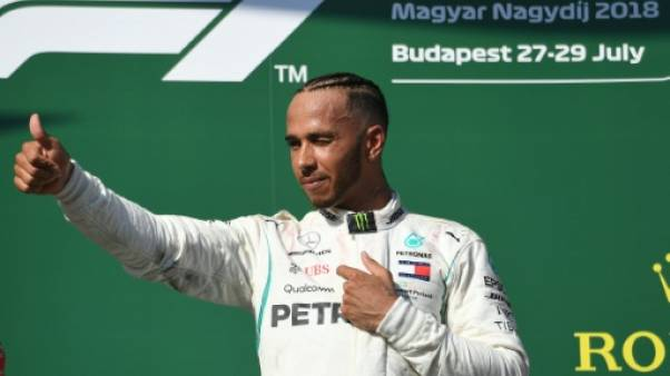 GP de Hongrie: Hamilton en vacances avec l'esprit tranquille
