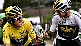 """Tour de France: Geraint Thomas, sang-froid gallois et sens de l'humour """"so british"""""""