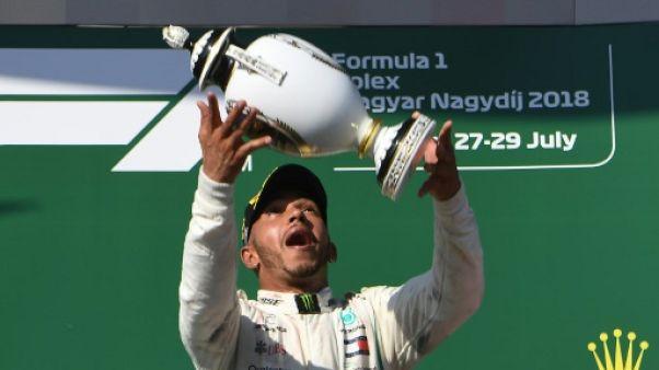 """GP de Hongrie: Hamilton espère """"apporter un élan durable à l'équipe"""""""