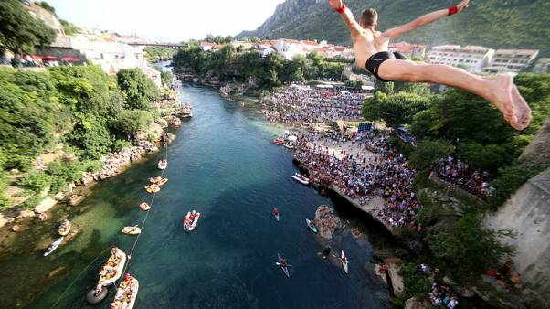 Mostar's youngest diver honours centuries of tradition