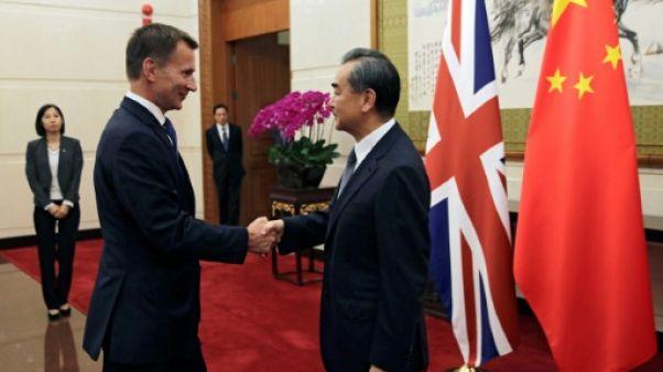 Brexit: Pékin et Londres envisagent un accord de libre-échange