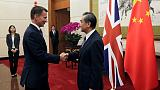 Senior China diplomat says does not welcome interference on Hong Kong