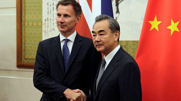 وزير الخارجية البريطاني الجديد يزور الصين في أول زيارة خارجية