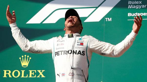 Hamilton ahead but still focused on catching up