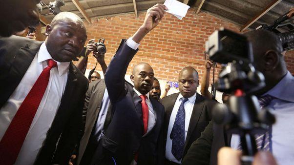 """مرشح المعارضة في انتخابات زيمبابوي يقول """"النصر مؤكد"""""""