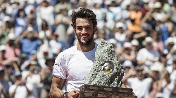 Atp: Nadal leader, Berrettini è 54/o
