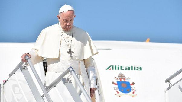 Papa: persone sfruttate non sono merce