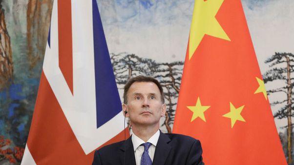 """في خطأ """"فادح"""".. وزير خارجية بريطانيا يقول زوجتي يابانية"""