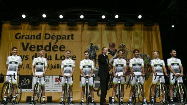 Tour de France: six équipes au complet à l'arrivée