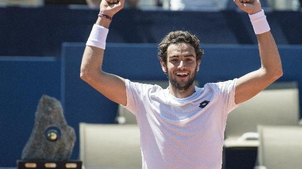 Tennis: Malagò, felice per Berrettini