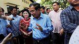 """المعارضة: بطاقات الاقتراع الباطلة في انتخابات كمبوديا دليل على """"صورية"""" الانتخابات"""