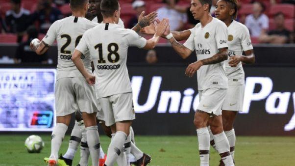 Amical: le PSG termine par une victoire, avant le Trophée des champions