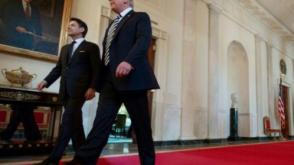 Trump et Conte défendent la fermeté de Washington et Rome sur l'immigration