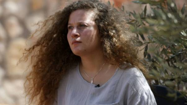 """Après 8 mois dans une prison israélienne, Ahed Tamimi """"ne regrette rien"""""""