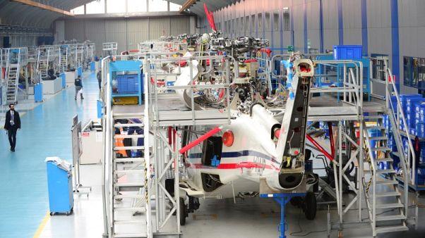 ليوناردو الإيطالية ترفع توقعاتها للإيرادات لتعكس صفقة طائرات هليكوبتر مع قطر