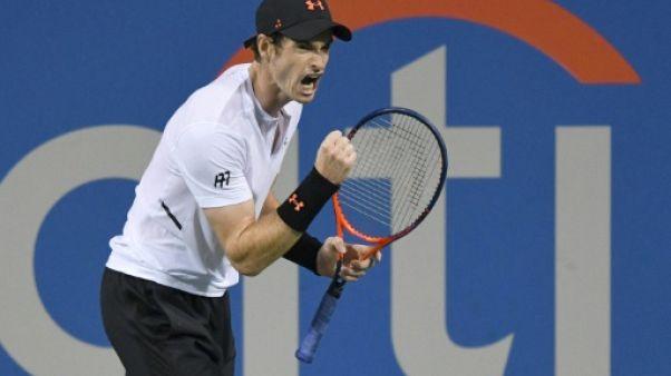 Tennis: retour réussi pour Andy Murray à Washington