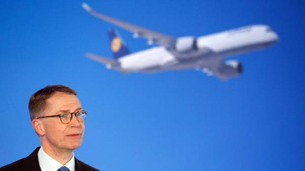 Lufthansa upbeat on pricing, helped by North Atlantic routes