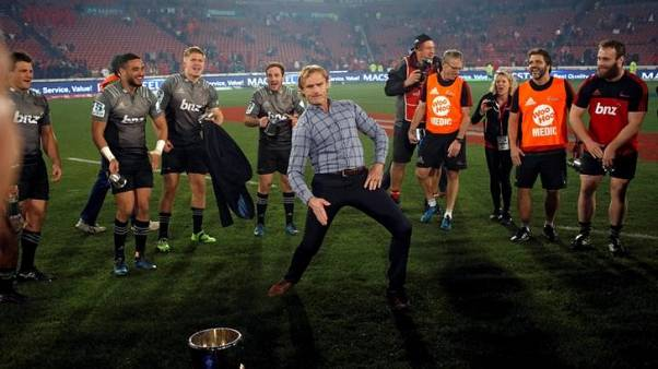Rugby - Lord of the breakdance, 'Razor' Robertson primed to build dynasty