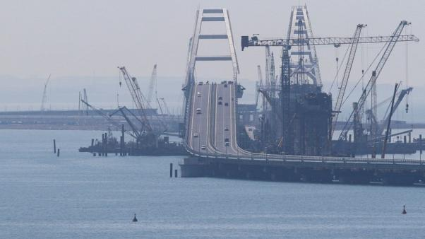 EU slaps sanctions on six Russian groups over Crimea bridge