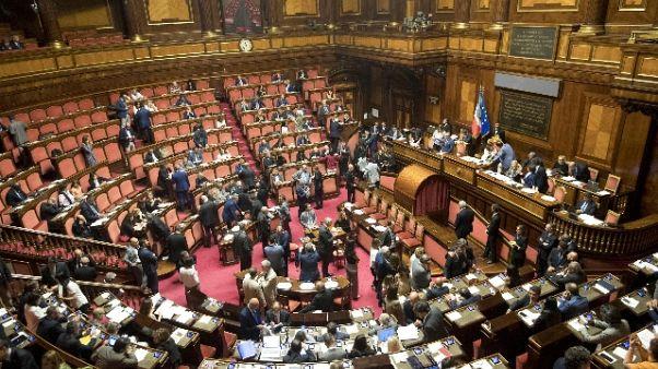 Dl ministeri: ok Senato, testo a Camera
