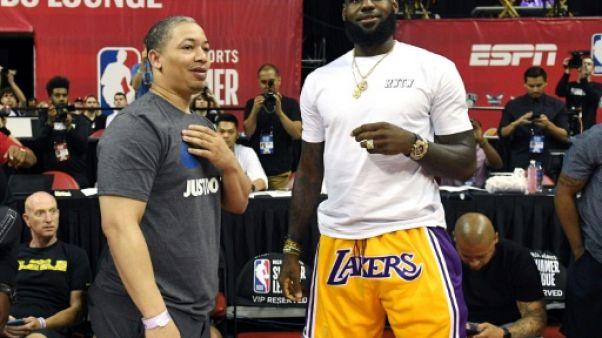 NBA: LeBron James veut ramener les Lakers au sommet