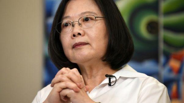 La présidente taïwanaise Tsai Ing-wen, à Taipei le 24 juin 2018