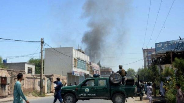 Afghanistan: fin de l'attaque à Jalalabad, les deux assaillants tués