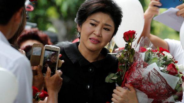 تايلاند تطلب من بريطانيا تسليم رئيسة الوزراء السابقة شيناواترا المدانة