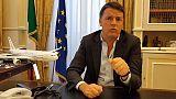 """Musei: Renzi, """"Ruspa governo su cultura"""""""
