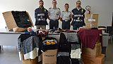 Gdf Bolzano dona 1000 capi confiscati