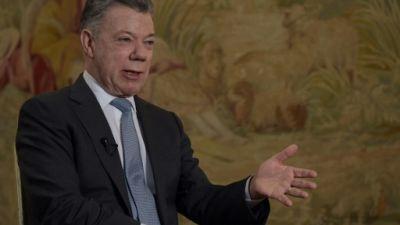 """La chute de Maduro """"est proche"""", juge le président colombien"""
