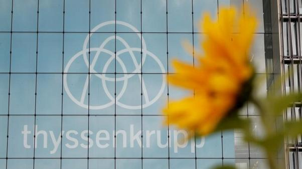 Thyssenkrupp cuts profit guidance on cost overruns at industrial unit