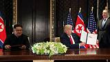 North Korea leader has committed to denuclearise - U.S. spokeswoman