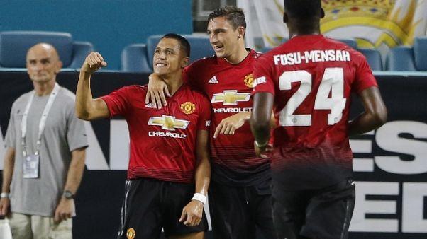 Icc: Real Madrid ko 2-1 contro lo United