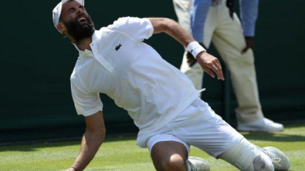 Le Français Benoît Paire à Wimbledon, le 7 juillet 2018