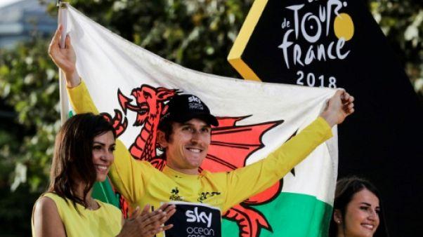 """Cyclisme: """"Ma vie est totalement chamboulée"""", affirme Geraint Thomas"""
