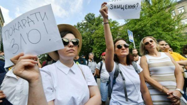 Indignation en Ukraine après l'attaque d'une militante anticorruption à l'acide
