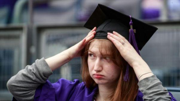 Un jeu télévisé efface l'ardoise d'étudiants endettés, un problème américain